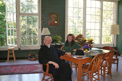 mtangel1 coffeeshop Received as Christ: Photos from a Benedictine monastery