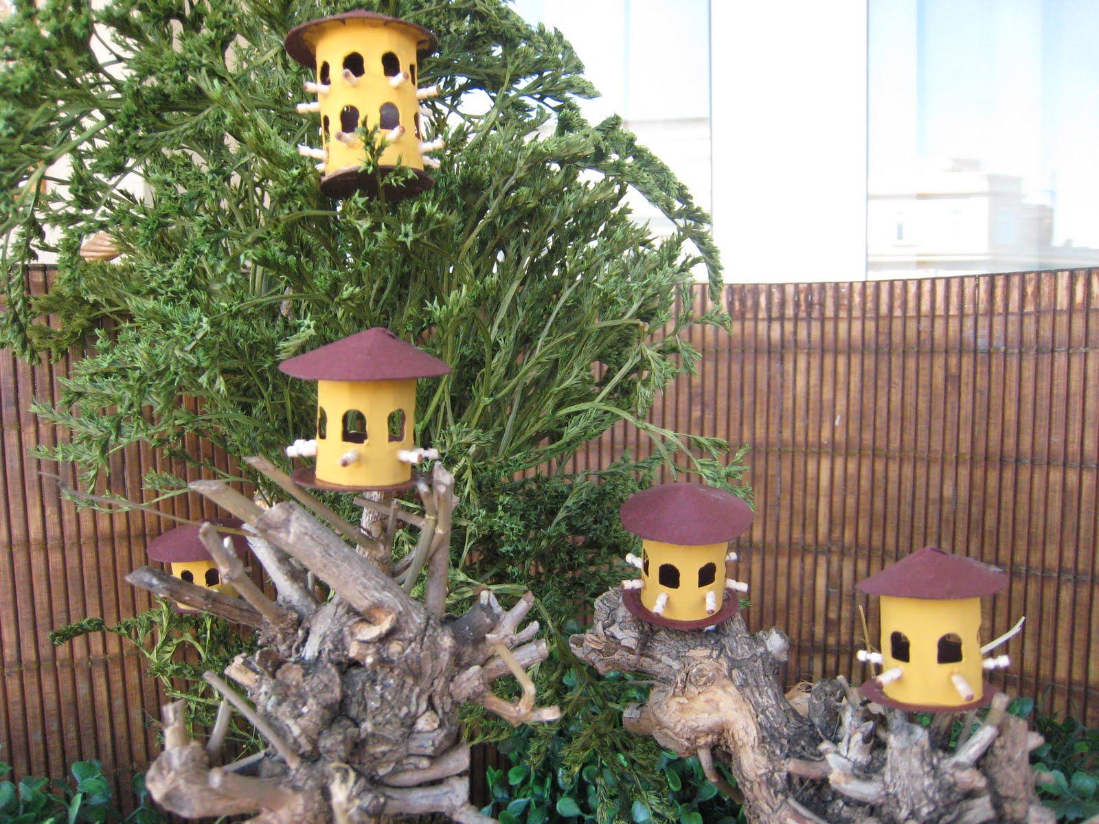 May casitas de pajaros en el jard n - Casitas para pajaros jardin ...