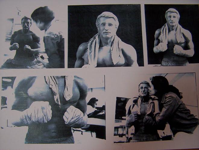"""Escultura """"Rocky"""""""