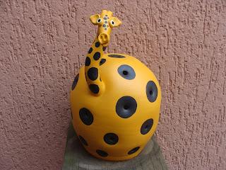 Luminária Girafa Amarela