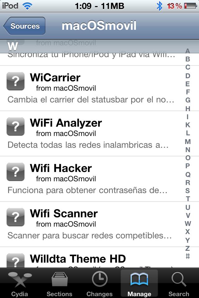 Obtener claves de internet [WiFi] con tu iPhone/iPod/iPad [WiFi Hacker