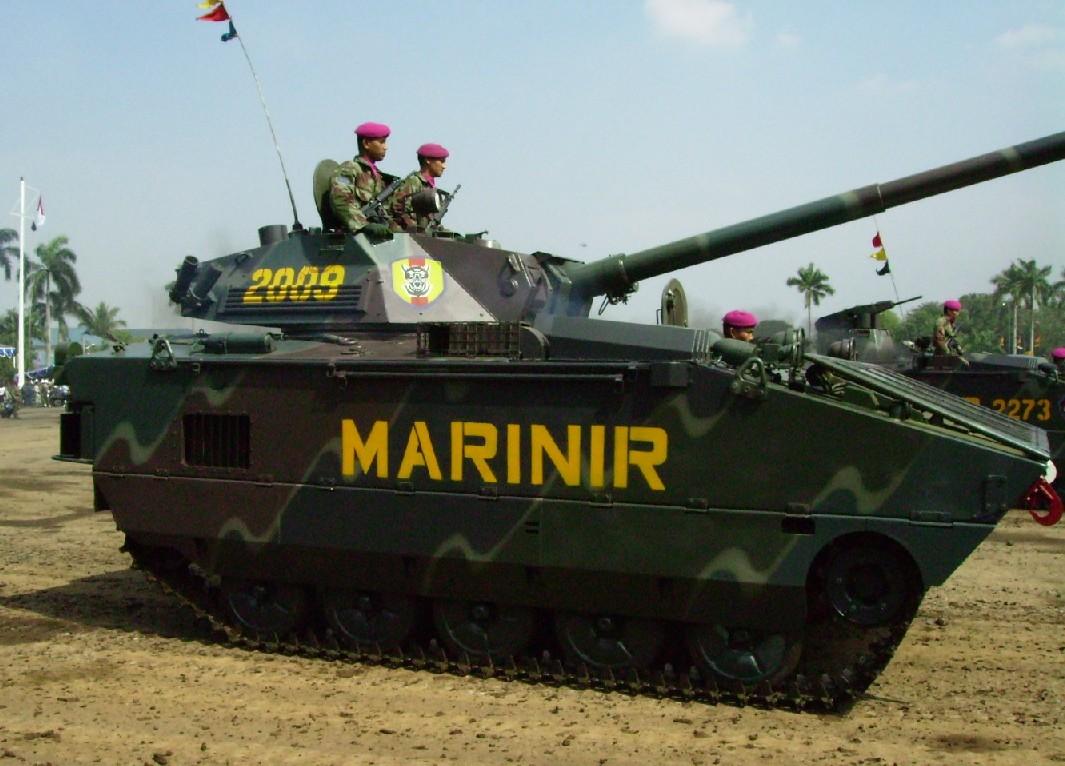 Indonesia Marine Corps Tank