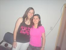 Gringa con Enana