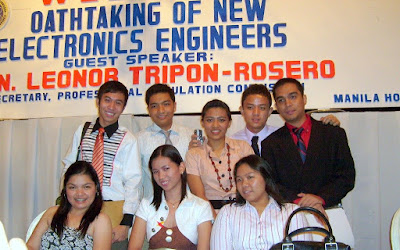 oathtaking of new electronics engineers, professional regulations commission, PRC, manila hotel, electronics engineers, board exam, ECE, jaypee david, engineer, holy angel university, As I Take My Oath as An Electronics Engineer