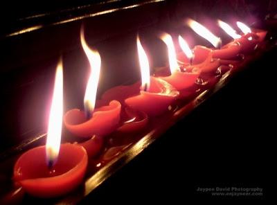 carmelite monasteries, candles, angeles city pampanga, miraculous roses, jaypee david, photography, jaytography, enjayneer
