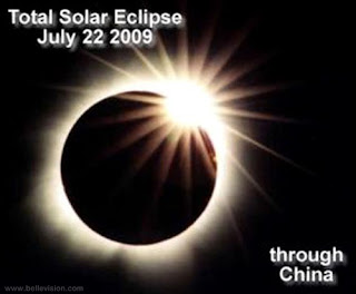 Total Solar Eclipse 2009, July 22 2009, China, India