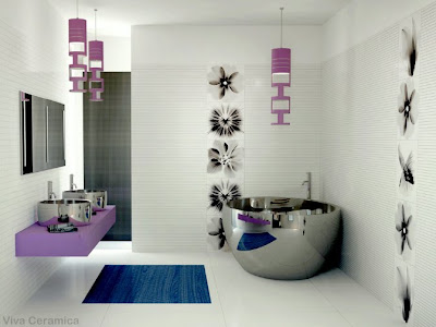 Modern Bathroom Designs and Ideas, Home Interiors, Tips and Advice on Designing your House