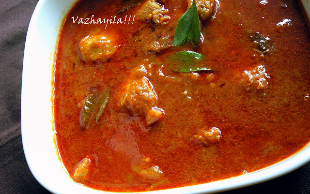 Vazhayila.comKerala chicken curry