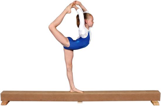 How To Make A Gymnastics Balance Beam At Home