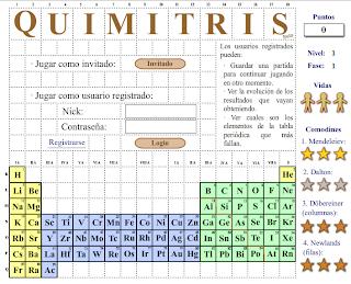 Ciencia sexto juegos de la tabla periodica el tetris de la tabla peridica urtaz Choice Image