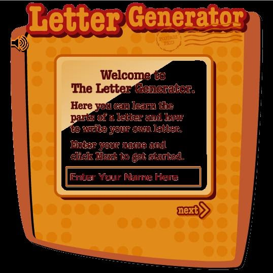 letter generator read write think Letter generator - readwritethink - readwritethink.