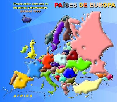 Paises De Europa. Capitales