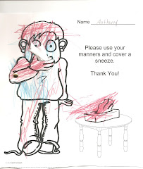 Cover Your Sneeze Please Worksheet