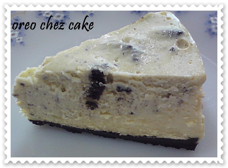 resepi kek oreo cheese bahan dasar 300gm biskut oreo di buang krimnya