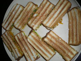 Sizzling Sandwich