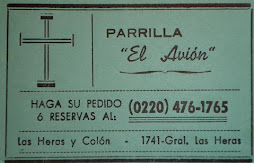 PARRILLA EL AVION