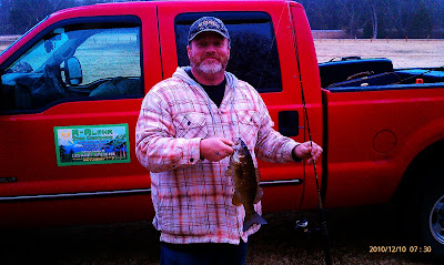 Smallmouth Bass caught on the White River