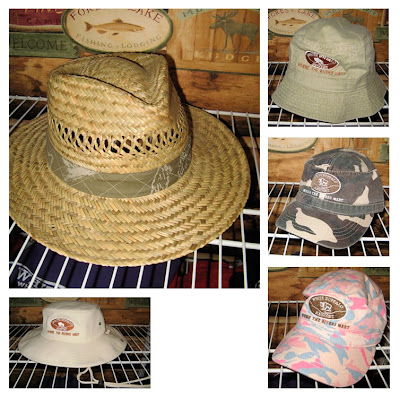 Goofy-looking River hats