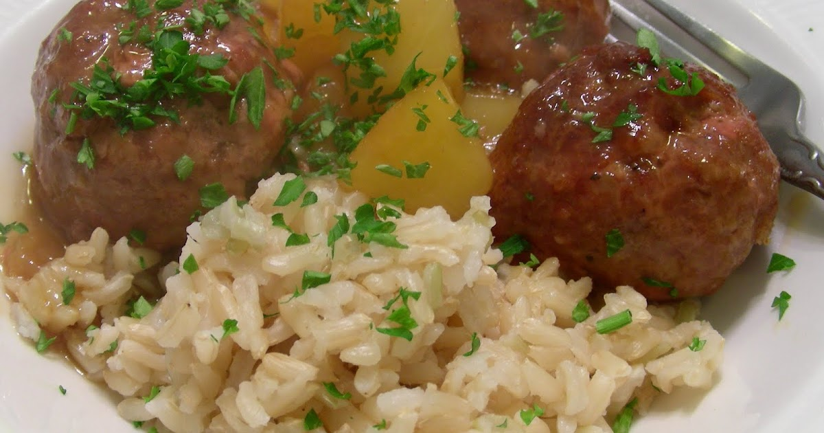 Susan Can Cook: Random Food Fridays - Sweet and Sour Meatballs
