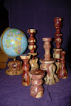 Some of The Wood Artist's Craftsmanship