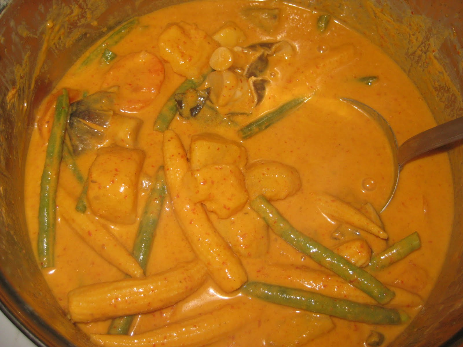 raymond's kitchen: from grandma's to ours: thai vegetable red curry