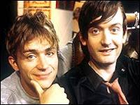 Damon Albarn y Jarvis Cocker, conocidas caras del britpop