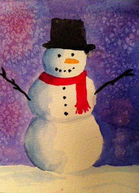 Kelownagurl december 2010 for How to paint snowmen