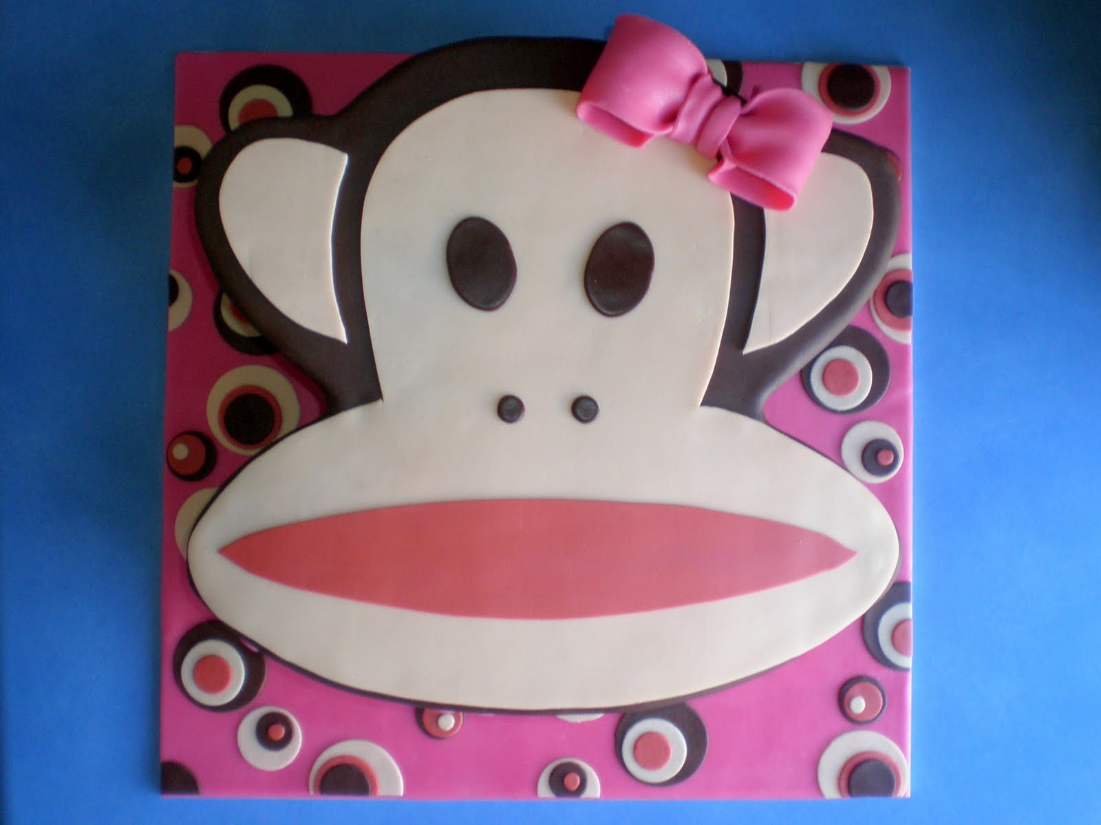 Sugar Siren Cakes Mackay Paul Frank Birthday Cake