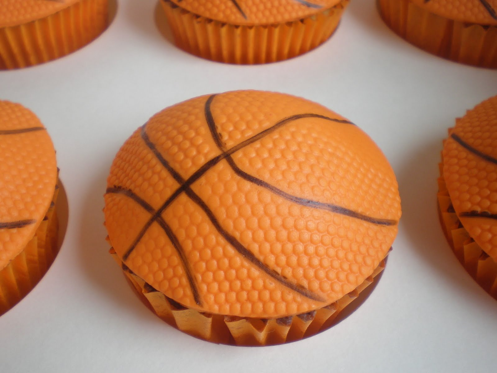 Basketball Cupcakes Ideas