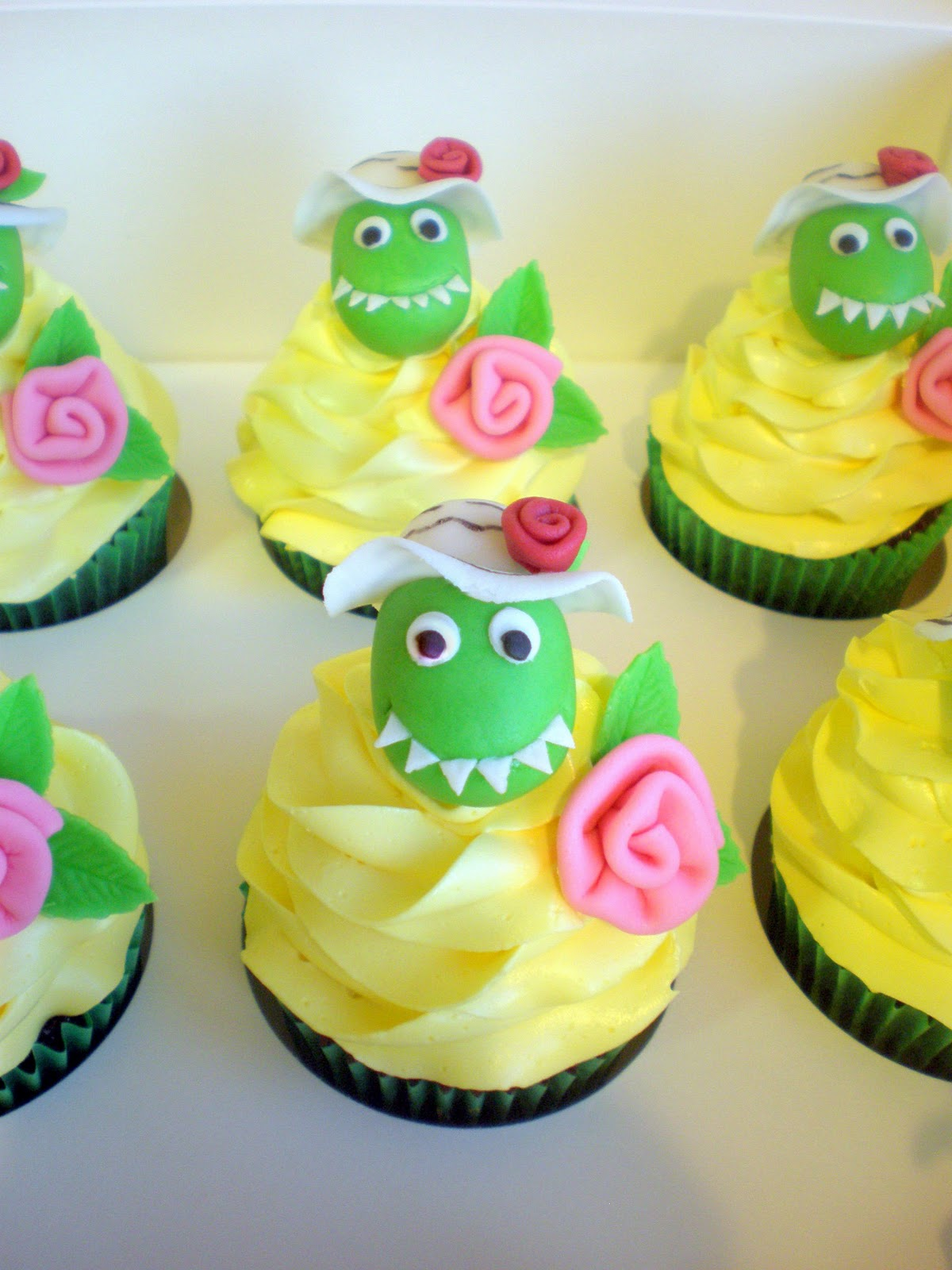 Sugar Siren Cakes Mackay Dorothy the Dinosaur Cupcakes