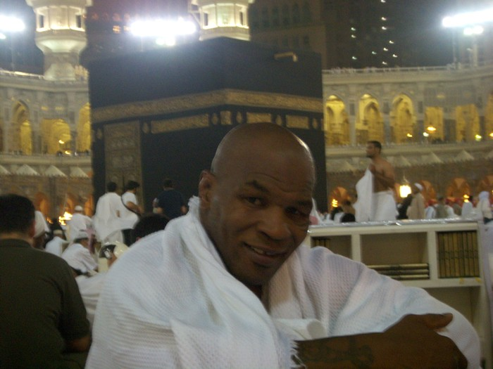 Mike Tyson in Mecca. Posted by londonmuslim 1 comments