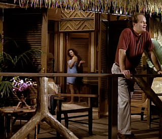 Frasier and Madeline in Bora-Bora