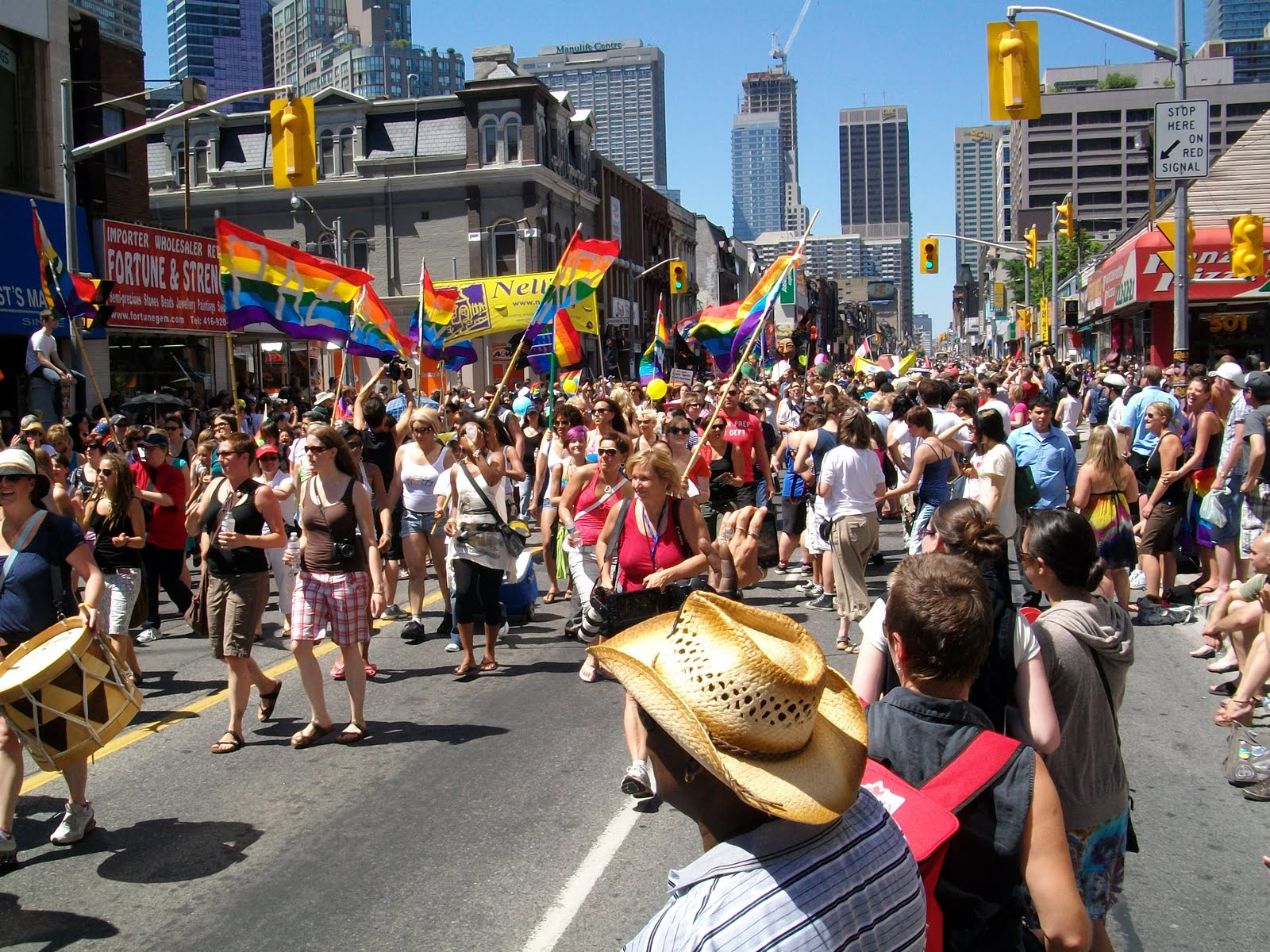 Toronto Gay Pride Parade!