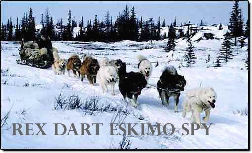 Rex Dart Eskimo Spy