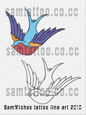 swallow tattoo designs 20. Tattoo Swallow Belt Buckle
