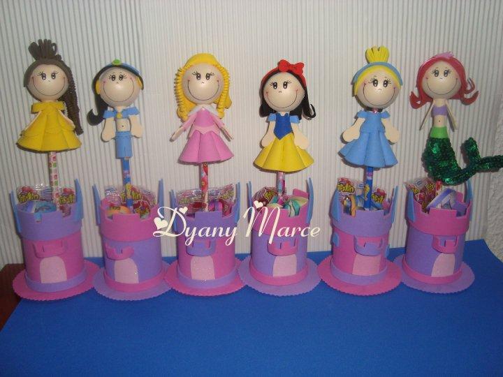 de las seis princesas con dulcero en castillo! especiales para las ...
