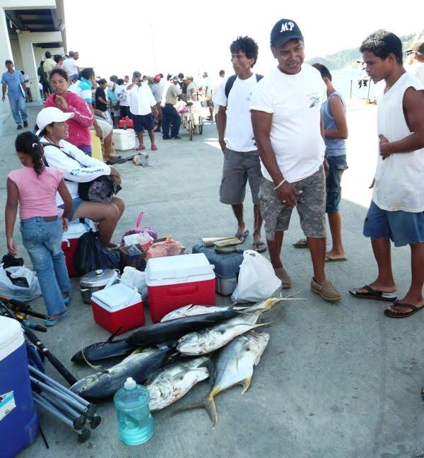 Fresh caught fish at San Juan del Sur