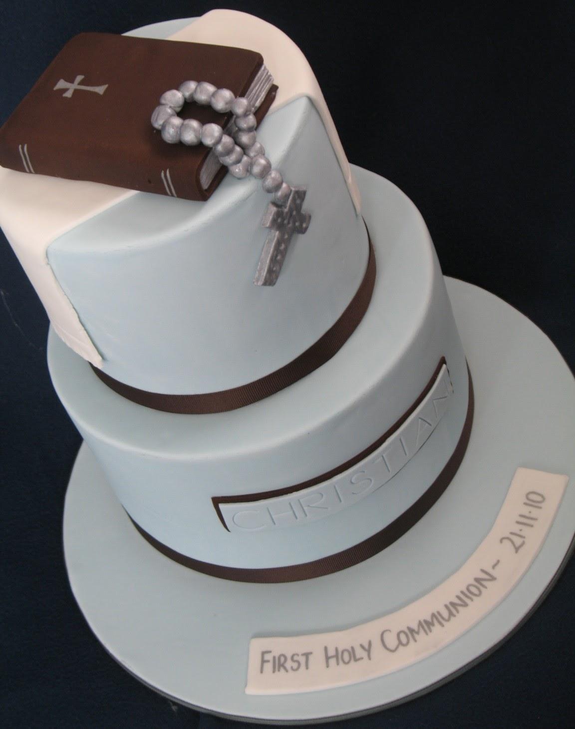 Blissfully Sweet: Boys Holy Communion Cake