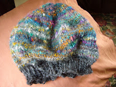finished soft beret