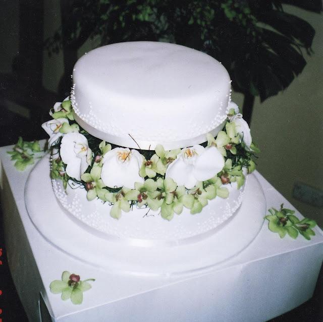 Wedding Cake Art Karen Hill : Wedding Cake Enchantress: How do I decorate a wedding cake ...