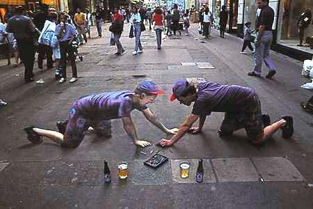 Funny Chalk Art