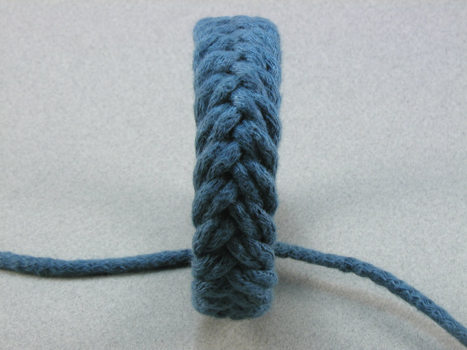 knots and fiber bracelets blue herringbone weave rope