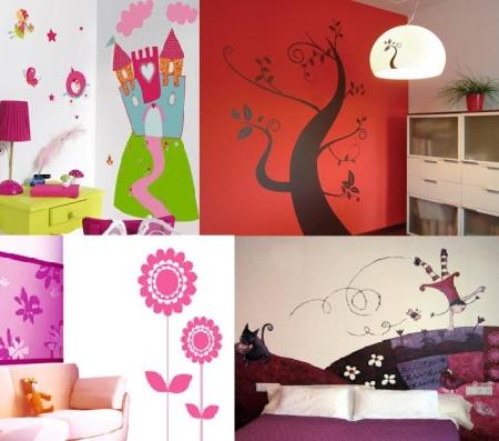 Decorando nuestras casas vinilos para decorar - Vinilo para decorar paredes ...