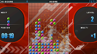 Block Cascade Fusion gameplay screenshot