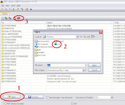 how to open nbu file in pc