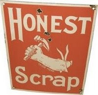 Honest Scrap Blog Award!
