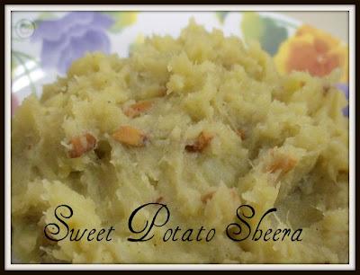 Ratalyacha Sheera (Sweet Potato Halwa)