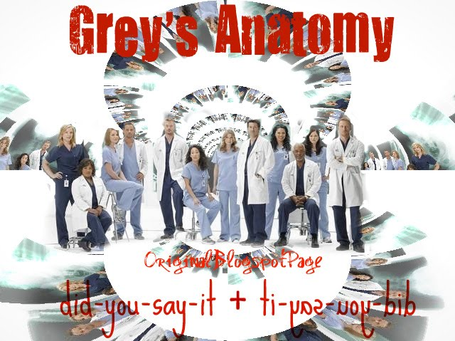 Chosse, Pick, Love: Grey's Anatomy