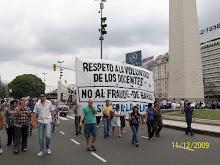 Marcha por La Plata 11/12/09