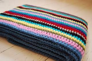 Striped Scarf Knit Pattern | Patterns Gallery